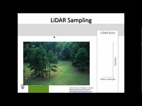 Dr. Nicholas Coops: Assessment of forest attributes using airborne and terrestrial LiDAR - pt. 1