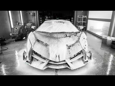 Lamborghini Veneno Ultimate Detail & Bespoke Paint Protection | Hypercar Series Part 5