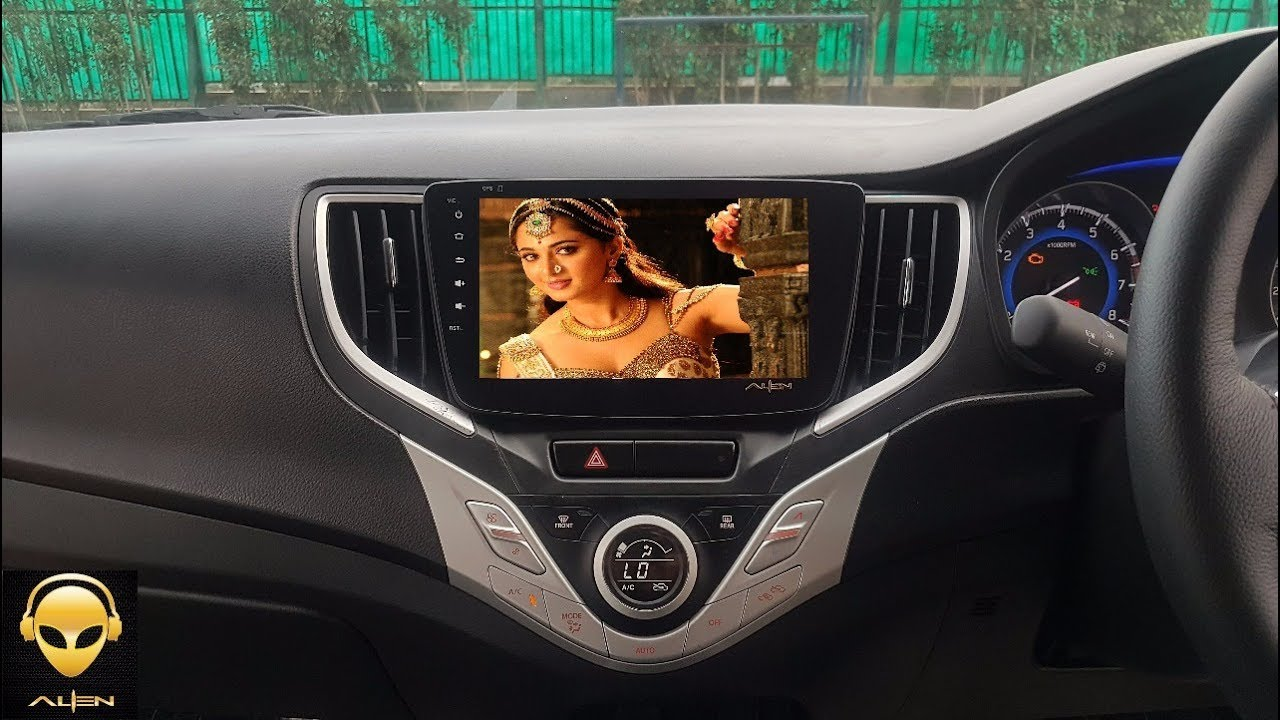 Car Youtube: Alien 8.1 Inch Android Car Infotainment System For Baleno