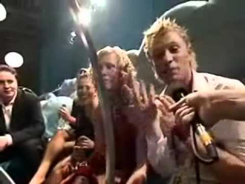 2003 Eurovision Song Contest in Riga, Jemini interview in green room