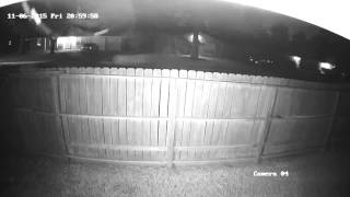 Drive-by on our house - Angle 2 11/6/15