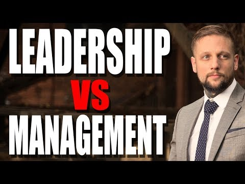 Leadership vs Management | How To Create Your Future By Leading