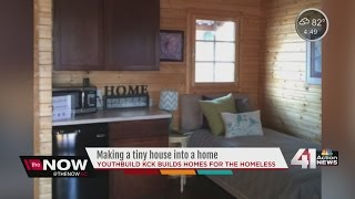 Tiny House For Homeless Finished In Kansas