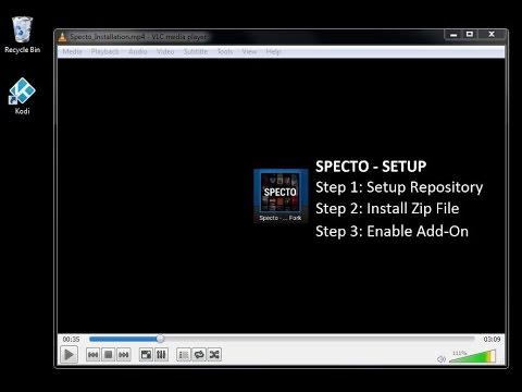 how to fix no stream available on kodi specto
