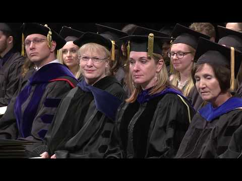 University of Iowa Education Commencement - December 14, 2017 on YouTube