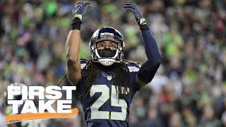 Richard Sherman Not Phased By Doug Baldwin's Comments | First Take | March 24, 2017