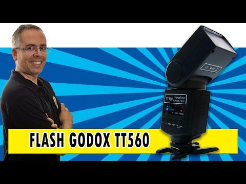 Flash Godox TT560 - O Flash Raíz