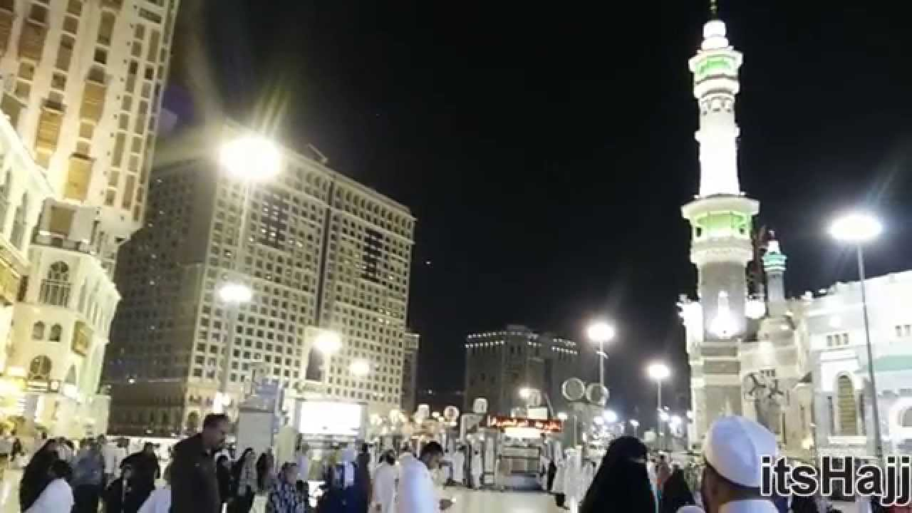 Late night view outside Bab-e-Abdul Aziz Masjid Al Haram Makkah & Late night view outside Bab-e-Abdul Aziz Masjid Al Haram Makkah ... pezcame.com