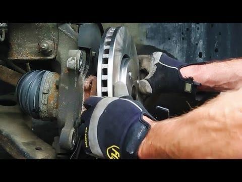 замена задних тормозных дисков на Фольксваген джетта 5