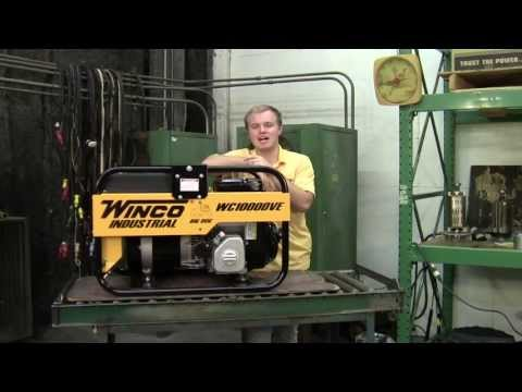 Winco Industrial Portable WC10000VE