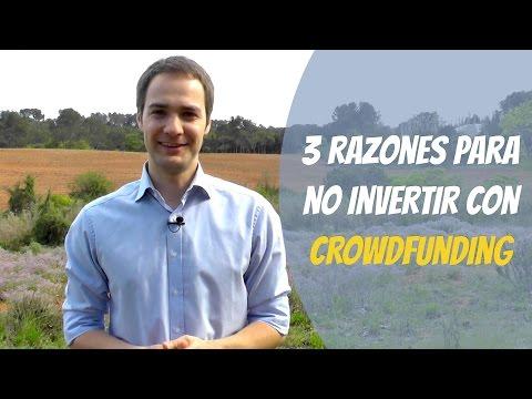 3 razones para NO invertir con crowdfunding