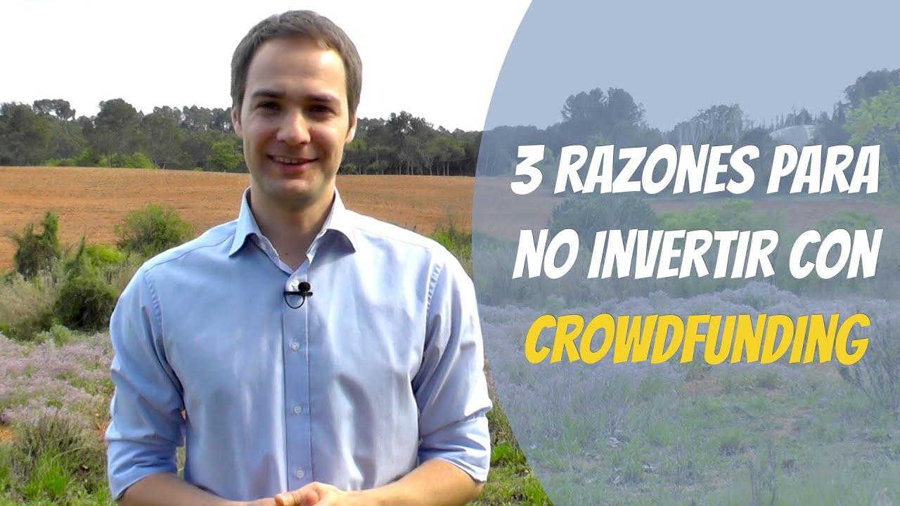 Download 3 razones para NO invertir con crowdfunding