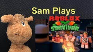 Sam Plays Roblox Survivor