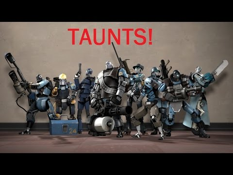 Team Fortress 2: All Robots Taunts
