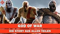 God of War: Die Story aus allen Teilen!   Special
