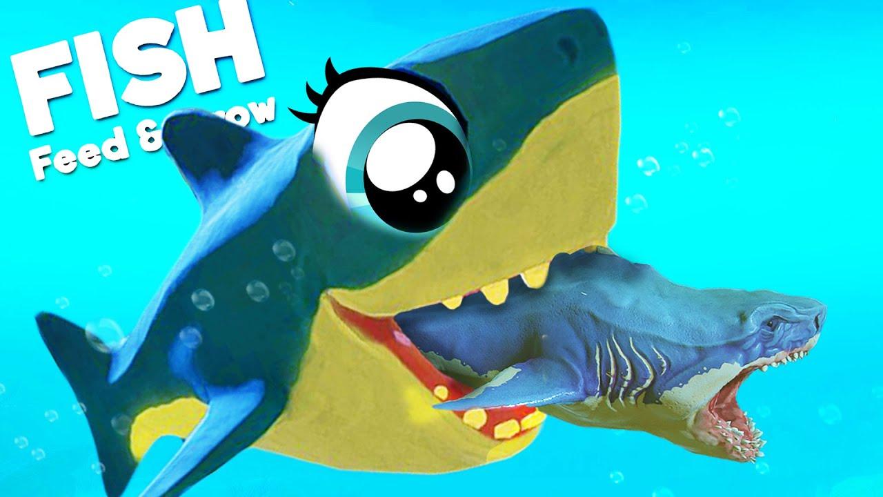 Download GIANT BABY SHARK Takes Down DEADLIEST OCEAN PREDATORS! | Feed And Grow Fish