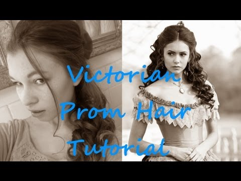 Victorian Prom Hair / Nina Dobrev Vampire Diaries Tutorial And Giveaway! {CLOSED}