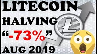 LITECOIN HALVING: SELL THE NEWS 😱😱😱