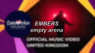 James Newman - Embers - United Kingdom 🇬🇧 (Eurovision 2021)   Empty Arena Edit