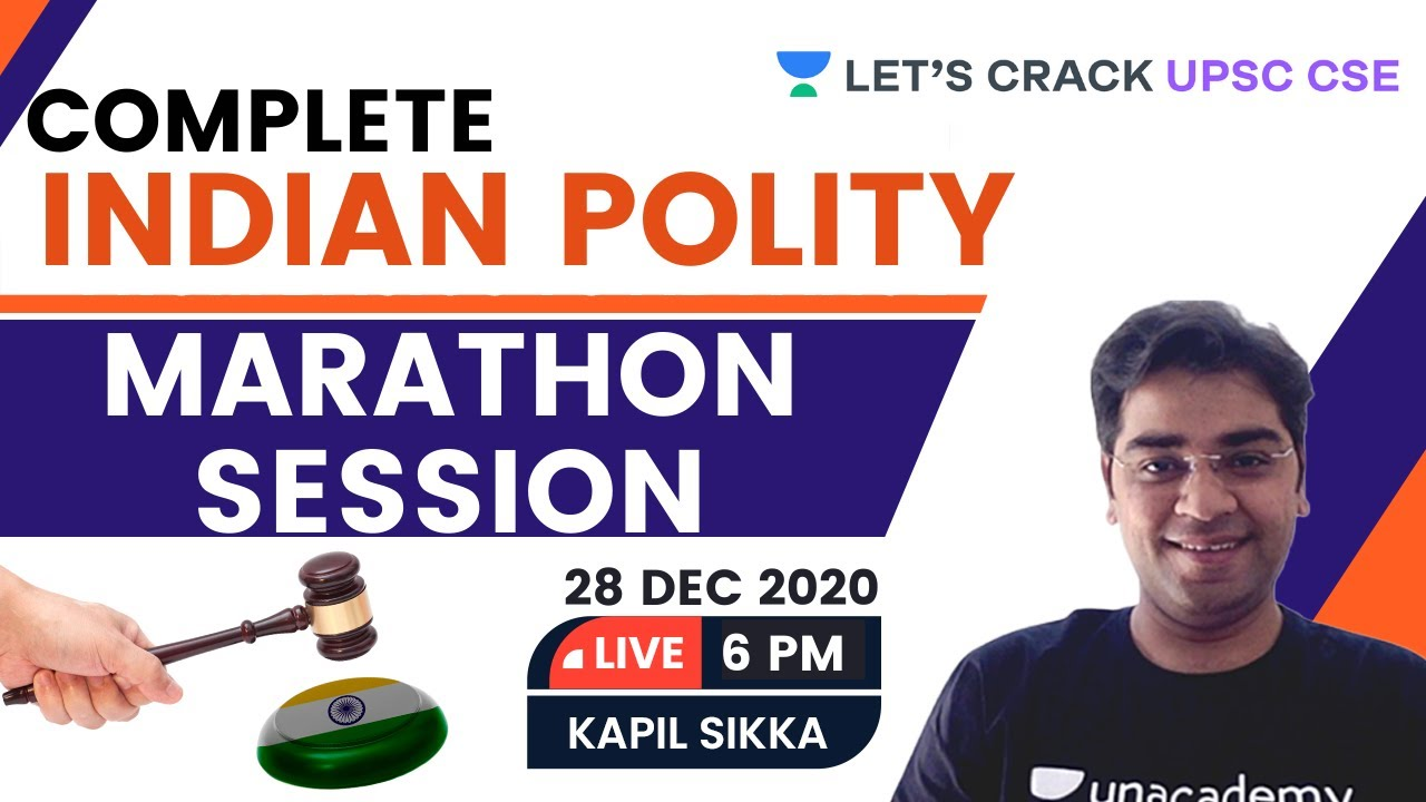Download Complete Indian Polity for Prelims 2021 | Marathon Session | UPSC CSE/IAS | Kapil Sikka