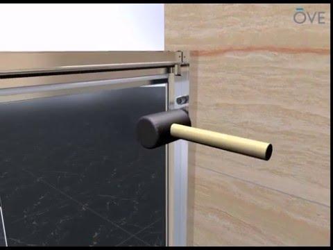 OVE Granada Alcove shower installation v04 - YouTube