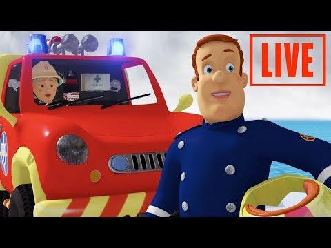 Fireman Sam New Episodes   🔴 SAM VS FLAMES  5 Full episodes 🔥 Kids Cartoon
