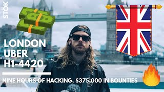 BUG BOUNTY LIFE - Hackers on a boat.. (HackerOne h1-4420 - UBER - London)
