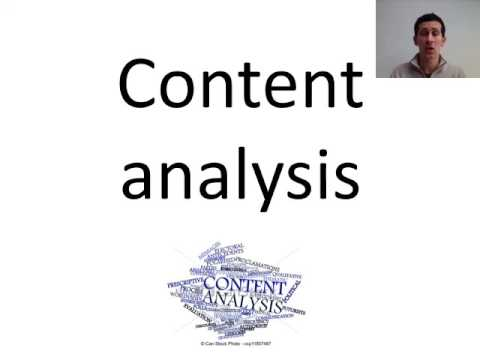 Research Methods Content Analysis And Case Studies