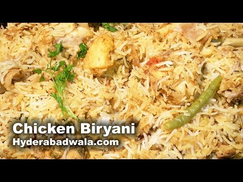 Hyderabadi Chicken Biryani with Kachi Aqni Recipe Video – How to cook Murghi Ki Biryani