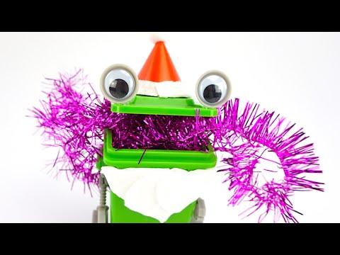 Подарки и сюрпризы от зеленого Деда Мороза
