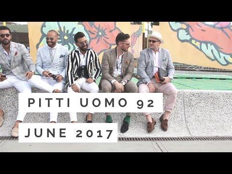PITTI UOMO 92. Pitti Immagine Uomo June 2017.  台灣  娛樂