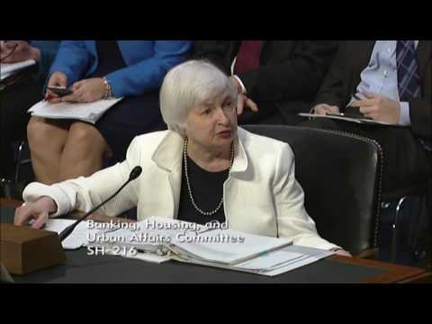 Sen. Moran Questions Federal Reserve Chair Yellen During Senate Banking Hearing