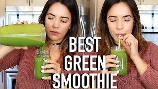 BEST GREEN SMOOTHIE RECIPE FOR WEIGHTLOSS!