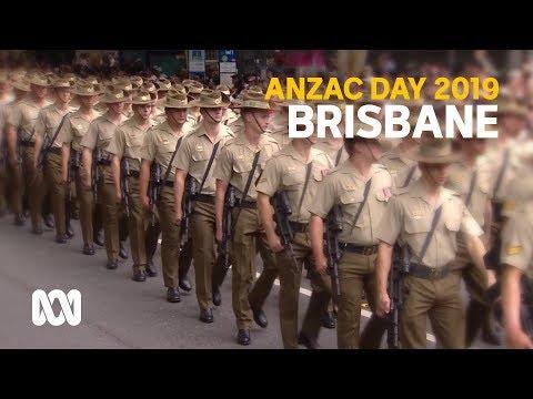 Anzac Day 2019 - Brisbane March And Service