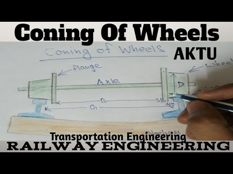 Coning of wheels | Railway Engineering | Transportation Engineering