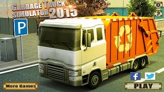 Garbage Truck Simulator 2015 - Gameplay Android