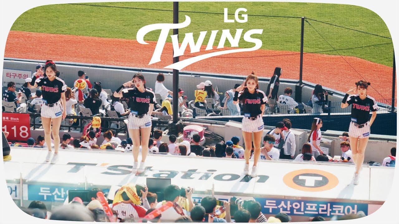 LG트윈스·190505(일) 치어리더공연|FANCY - TWICE|WOOWA - DIA [C4K10bit]