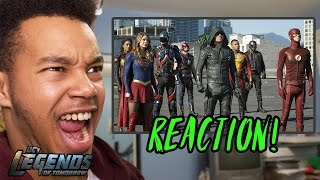 "Legends of Tomorrow Season 2 Episode 7 ""Invasion!"" REACTION!"