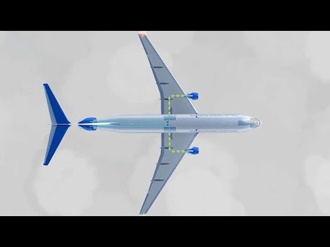 NASA STARC-ABL - Single-aisle Turboelectric AiRCraft with Aft Boundary Layer propulsion