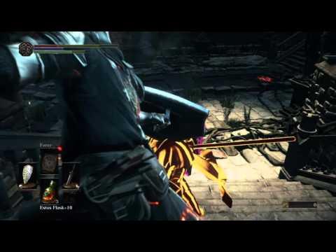 Dark Souls III - Grand Archives Mound Maker Invasion (1 vs. 2)