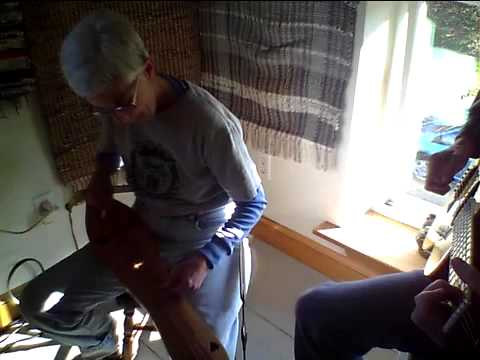 Quittin' Time at Essex Mine on lap dulcimer in noter/drone style and guitar