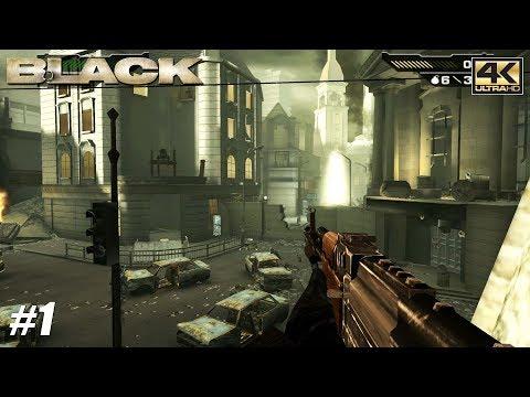 Black - Xbox One X Gameplay Playthrough 4K 2160p - PART 1