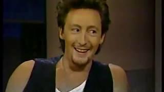 Julian Lennon @ Letterman