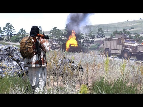 Arma 3 Afghanistan: British Marines ambushed in Sangin Valley (UK army)