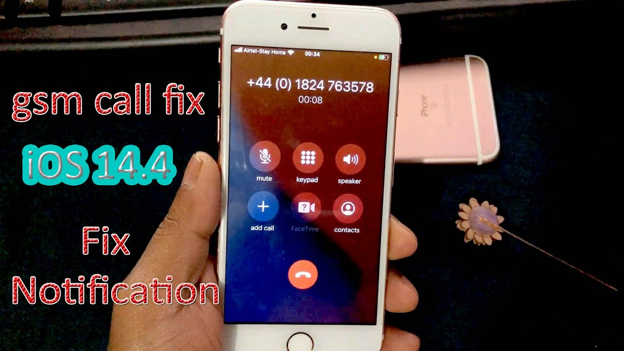 GSM iCloud Lock Bypass & CAll FIX.Any iPhone/iPad Support iOS 14.4.BT Drain,Notifications 100% FREE✅