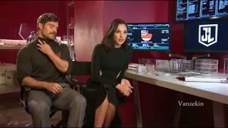 Gal Gadot - Justice League Interviews Compilation #05