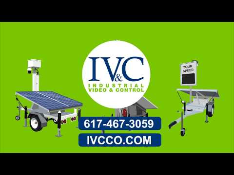 IVC MobileVision Surveillance Trailer Systems