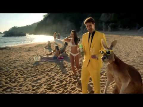 super advertising tv - 4- yellow tail