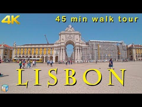 45 min walk tour in Alfama, Lisbon. Sony FDR-X3000