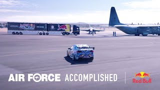 Air Force Trades & the Red Bull V8 Racing team create the ultimate pit crew